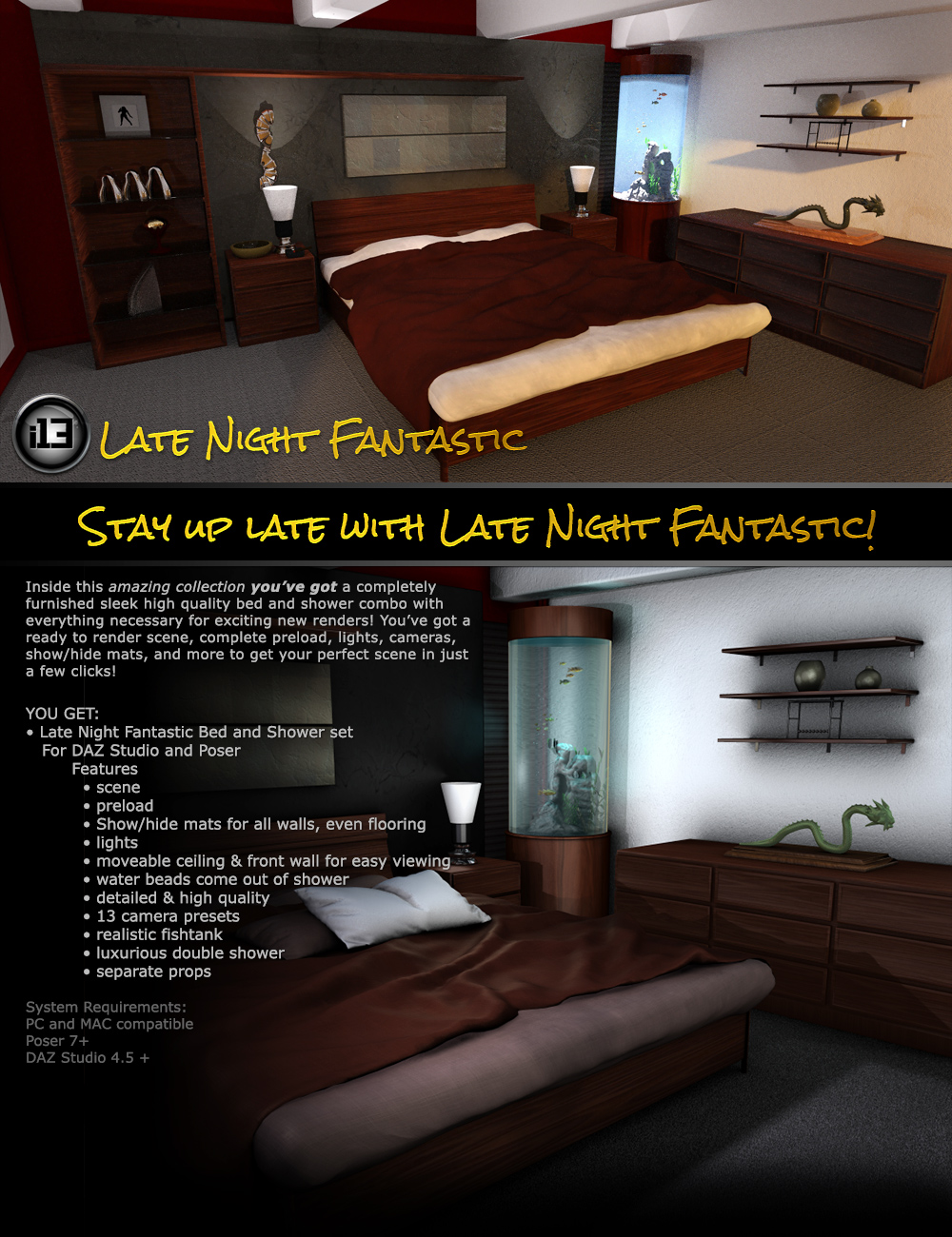 i13 Late Night Fantastic by: ironman13, 3D Models by Daz 3D