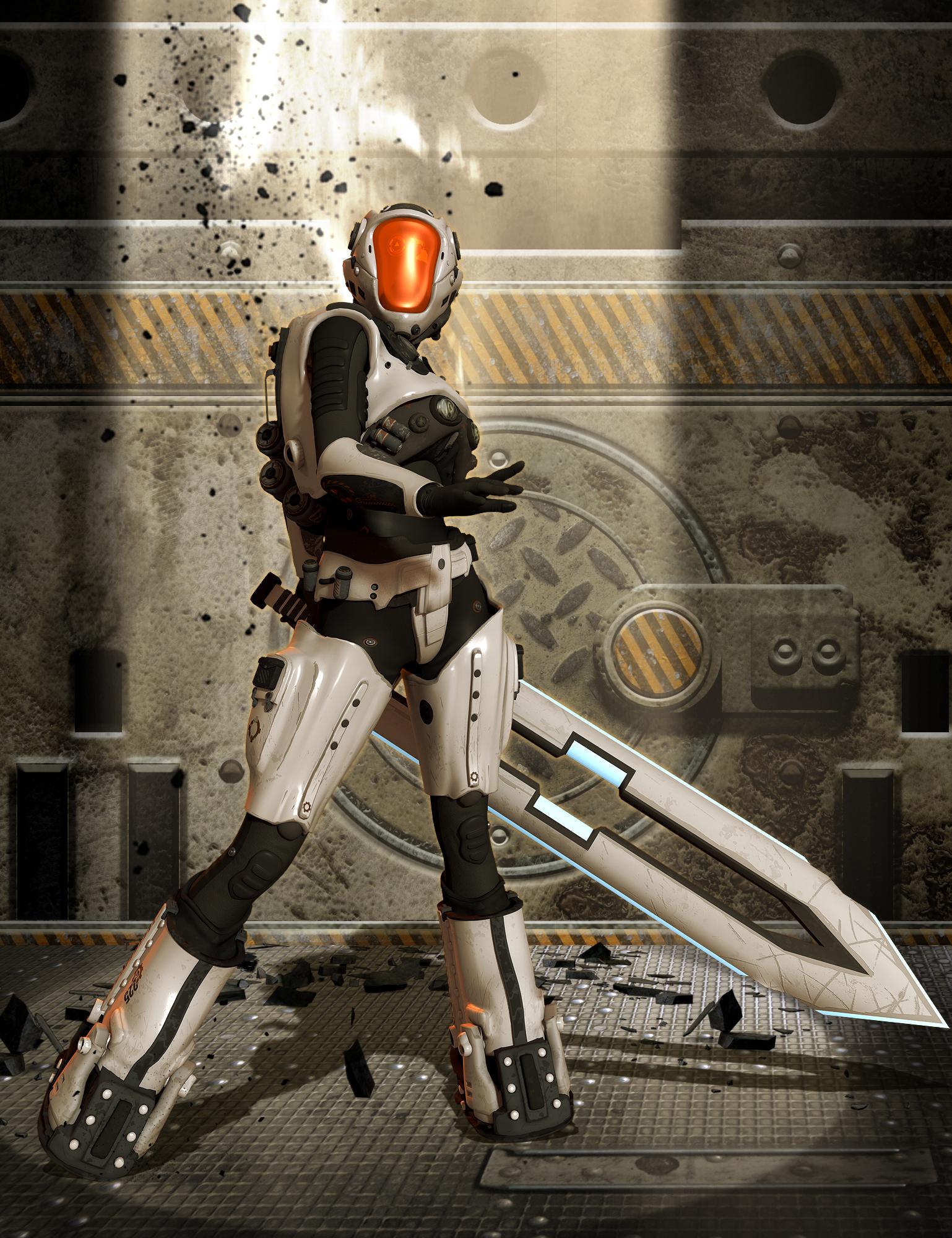 Mech Gear for Genesis 2 Female(s) by: SickleyieldThe AntFarm, 3D Models by Daz 3D