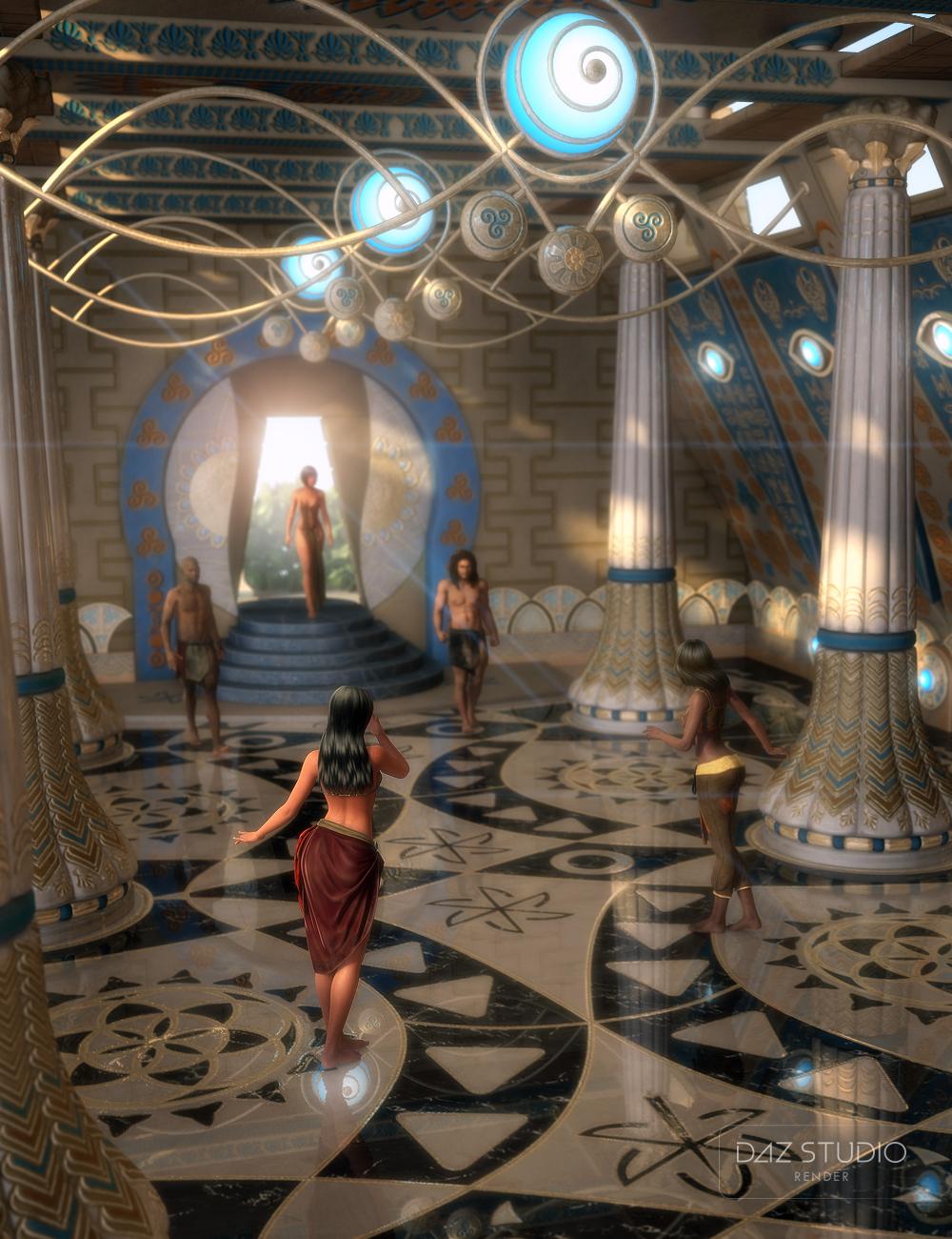 Atlantida Temple by: petipet, 3D Models by Daz 3D