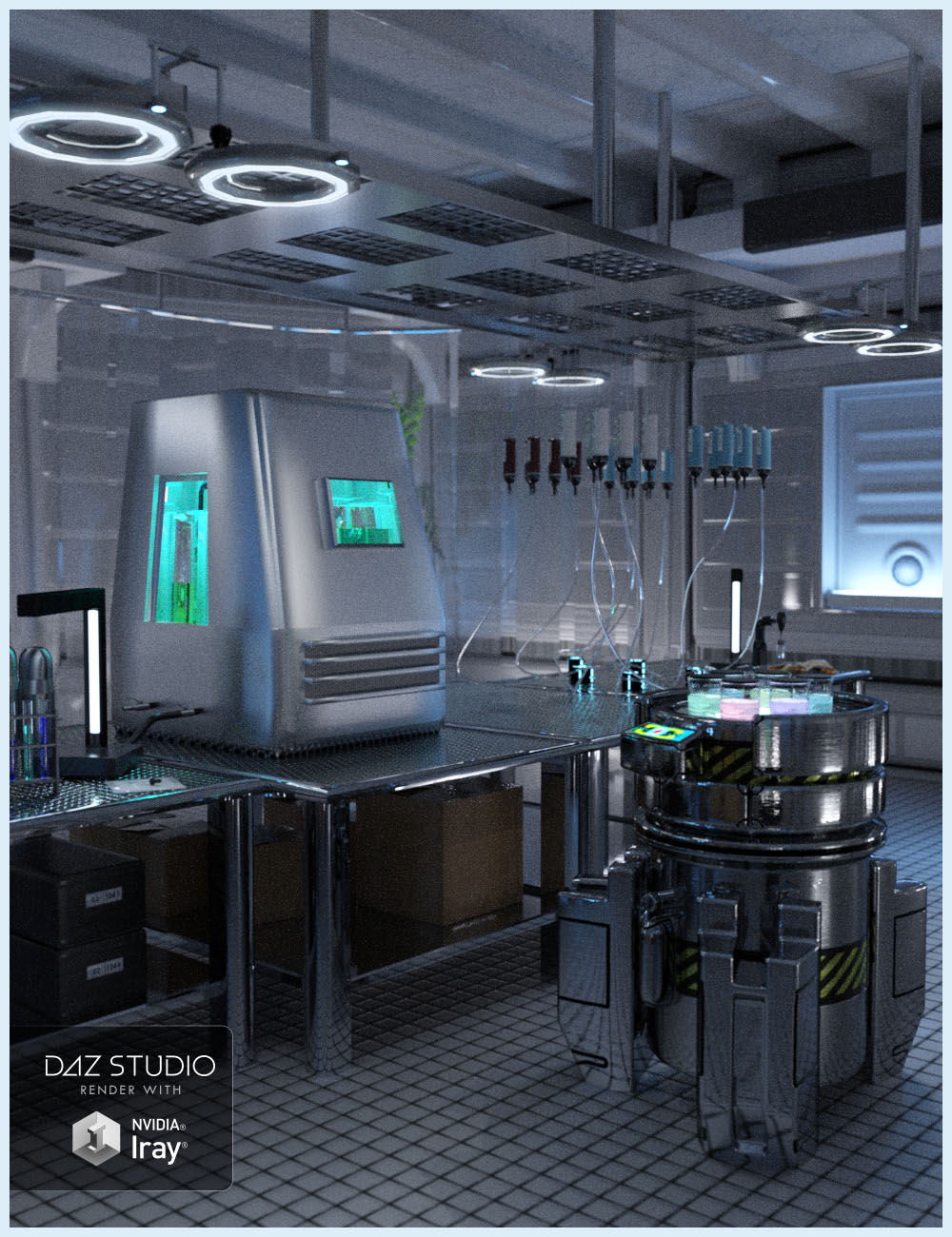 Liquid Lab by: Studio360, 3D Models by Daz 3D