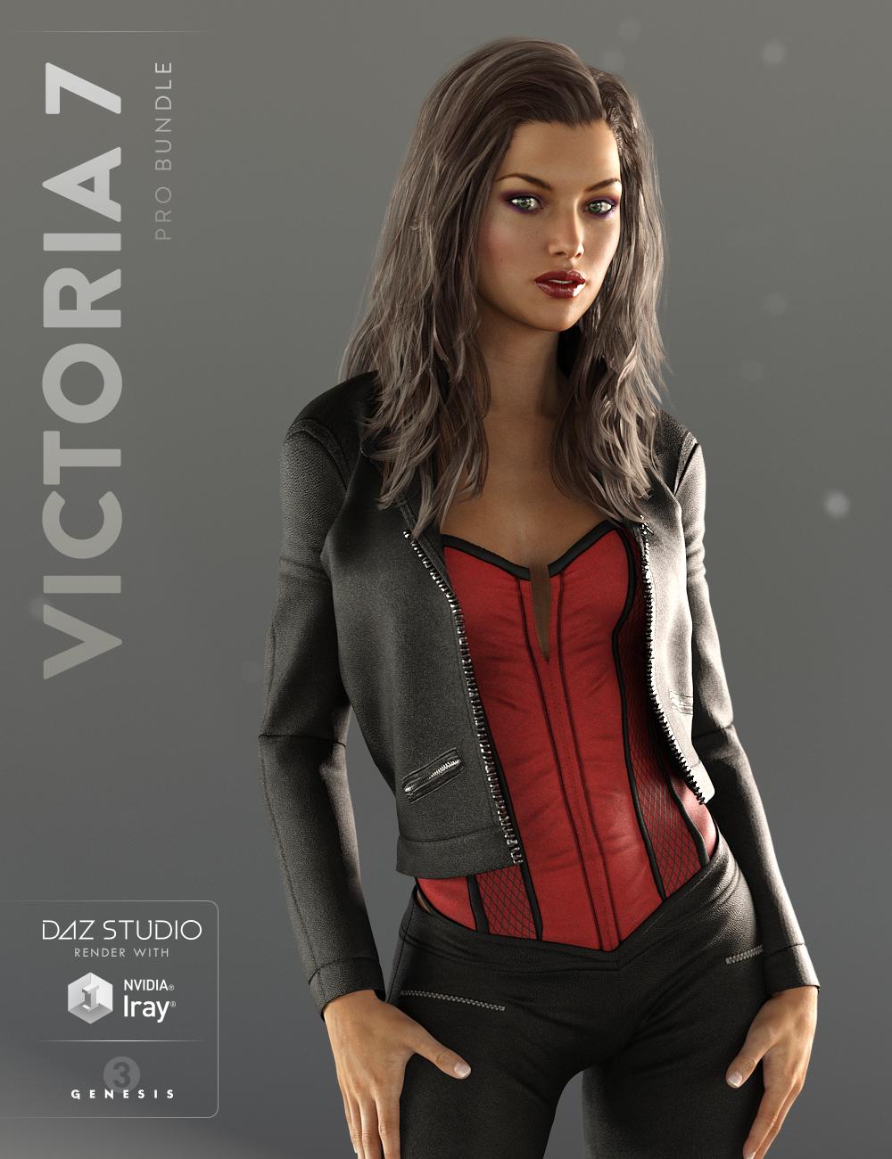 Victoria 7 Pro Bundle by: , 3D Models by Daz 3D