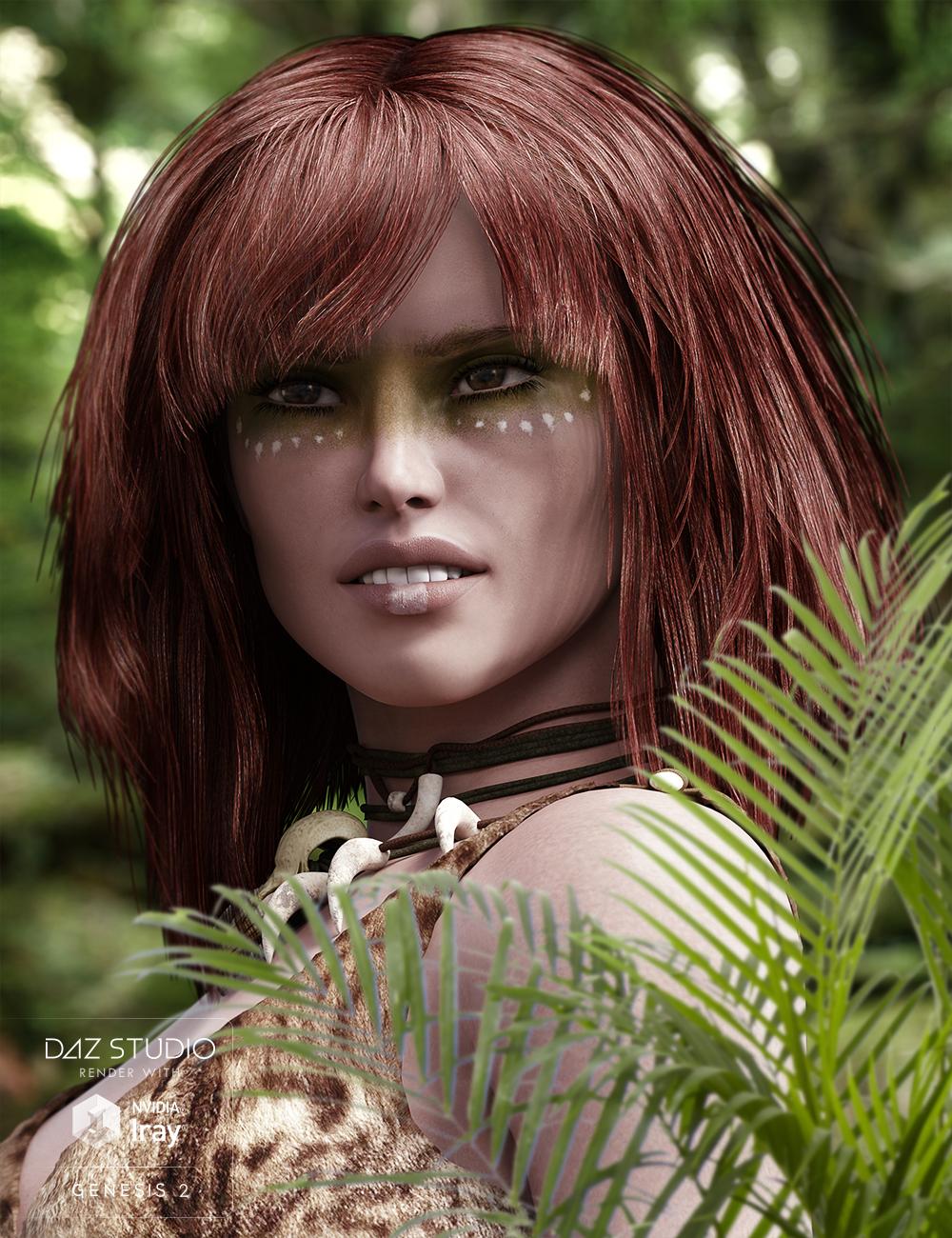 Apple Hair for Genesis and Genesis 2 Female(s) by: goldtassel, 3D Models by Daz 3D
