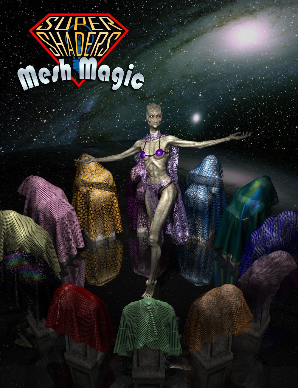 Super Shaders - Mesh Magic by: Denki Gaka, 3D Models by Daz 3D