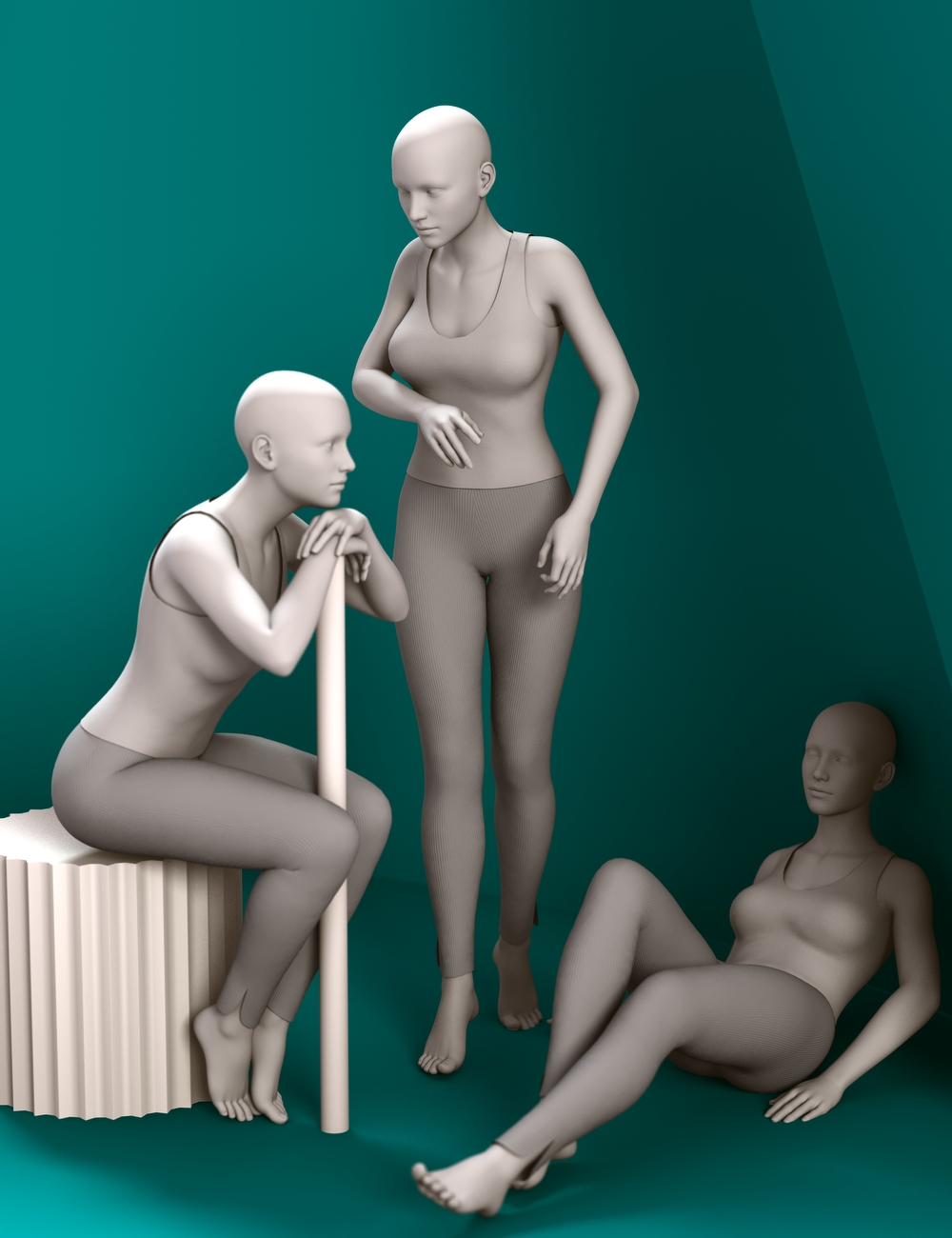 Always A Lady for Genesis 3 Female(s) by: Aave Nainen, 3D Models by Daz 3D
