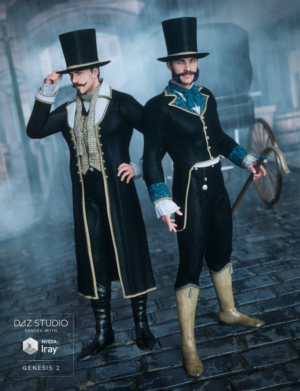Dapper for Regency and Expansion by: Sarsa, 3D Models by Daz 3D