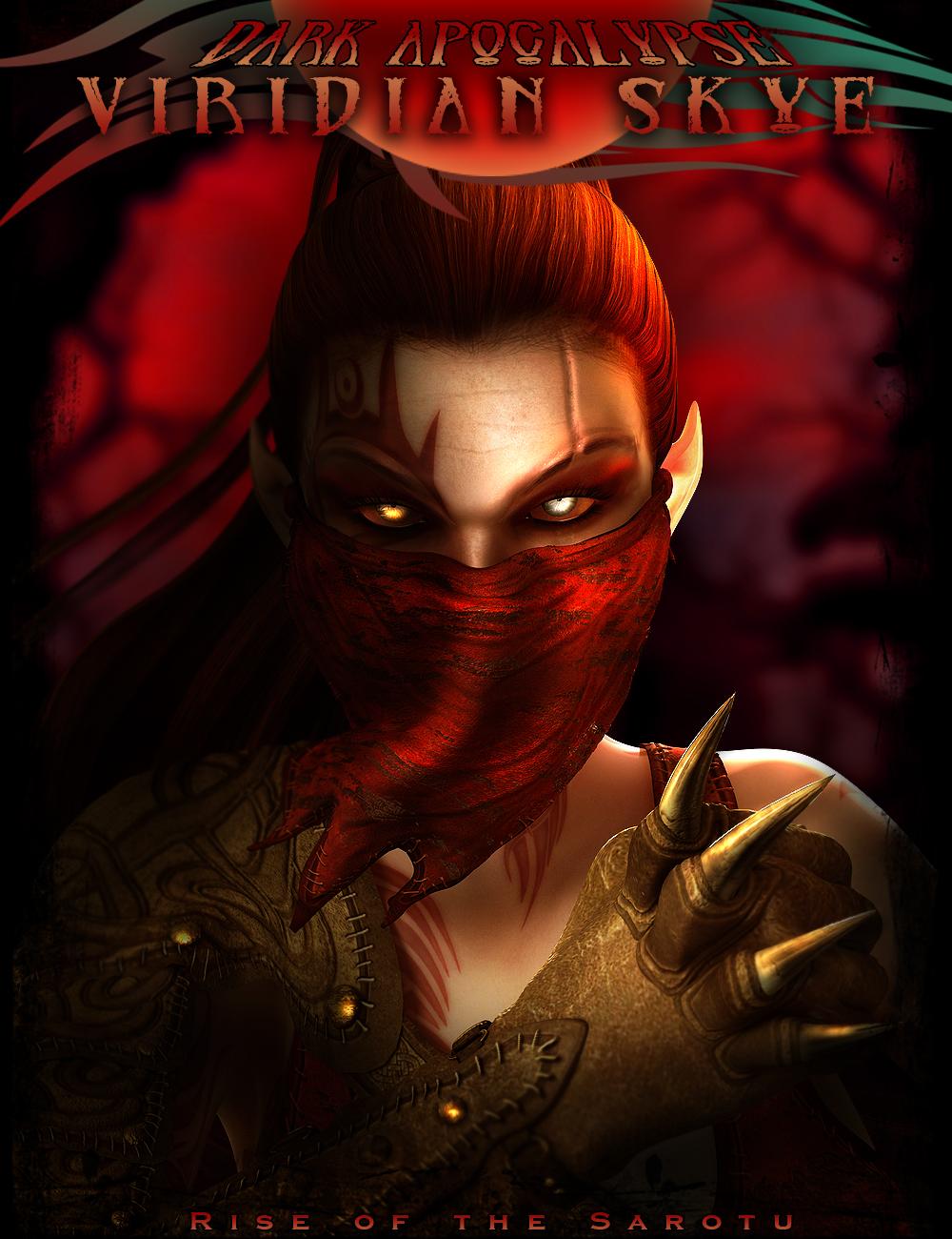 Dark Apocalypse: Viridian Skye Bundle by: IgnisSerpentus, 3D Models by Daz 3D