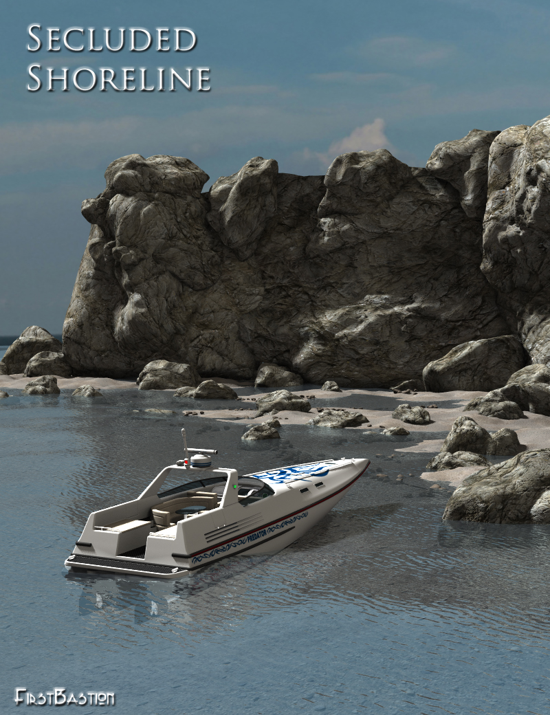 Secluded Shoreline by: FirstBastion, 3D Models by Daz 3D