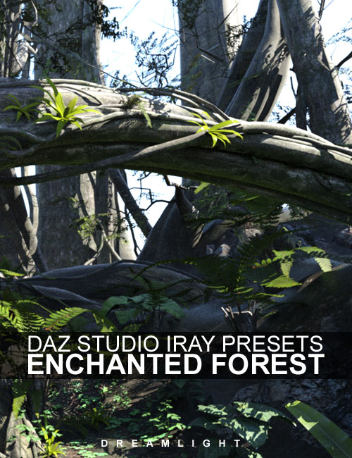 Iray Presets for DS Enchanted Forest by: Dreamlight, 3D Models by Daz 3D