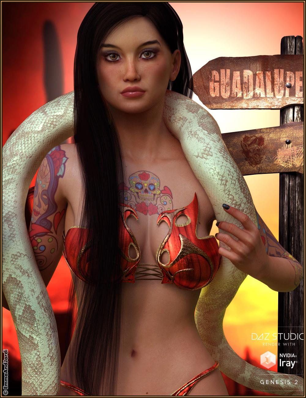 EJ Guadalupe by: EmmaAndJordi, 3D Models by Daz 3D