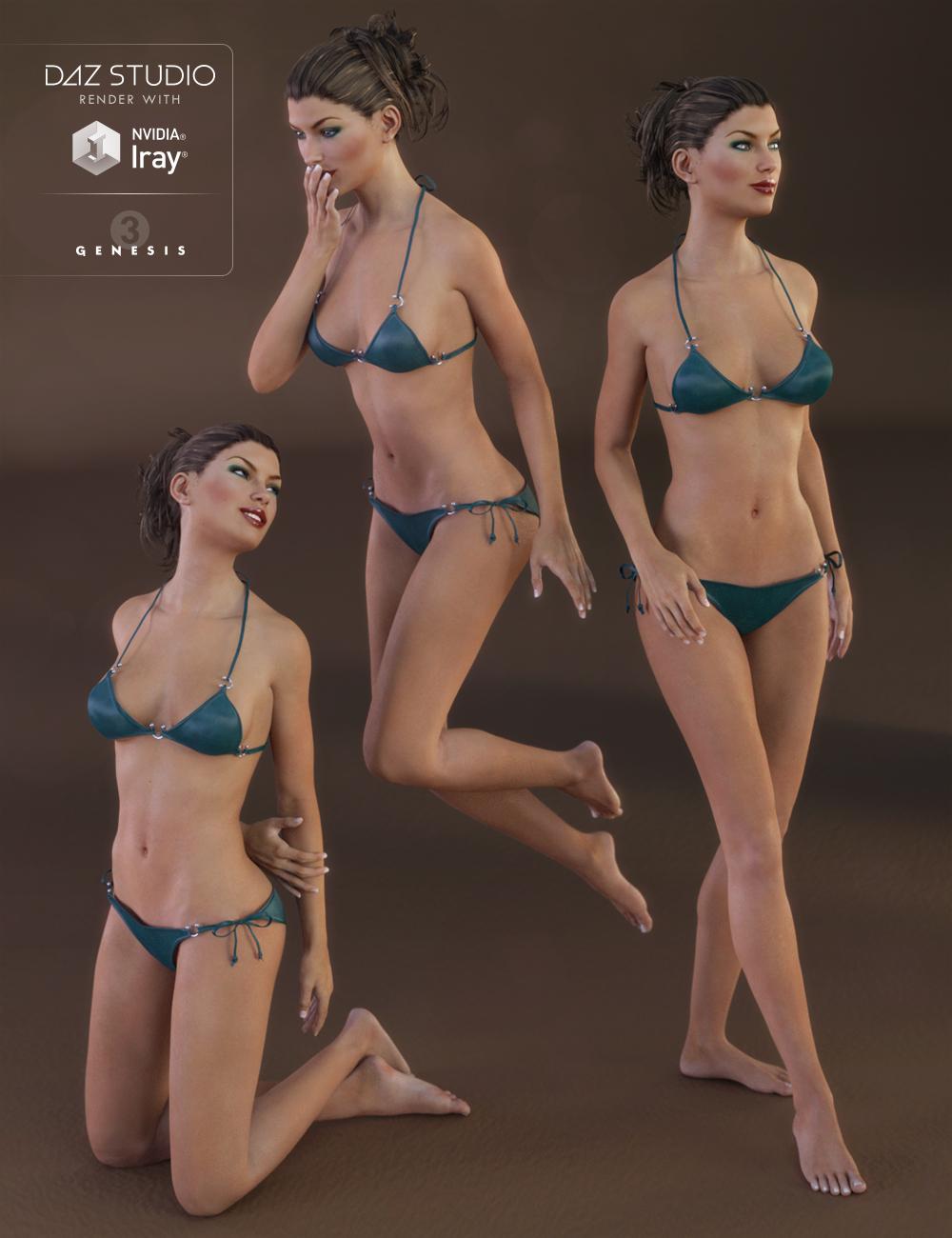 Elegant Fantasy Poses for Victoria 7 by: Elliandra, 3D Models by Daz 3D