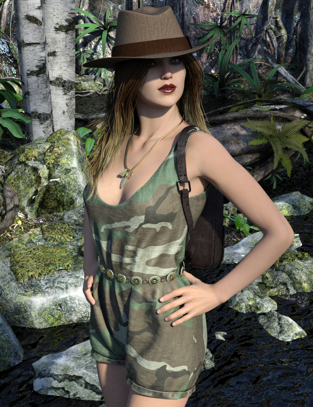Woodstock for Genesis 2 Female(s) by: Luthbellina, 3D Models by Daz 3D