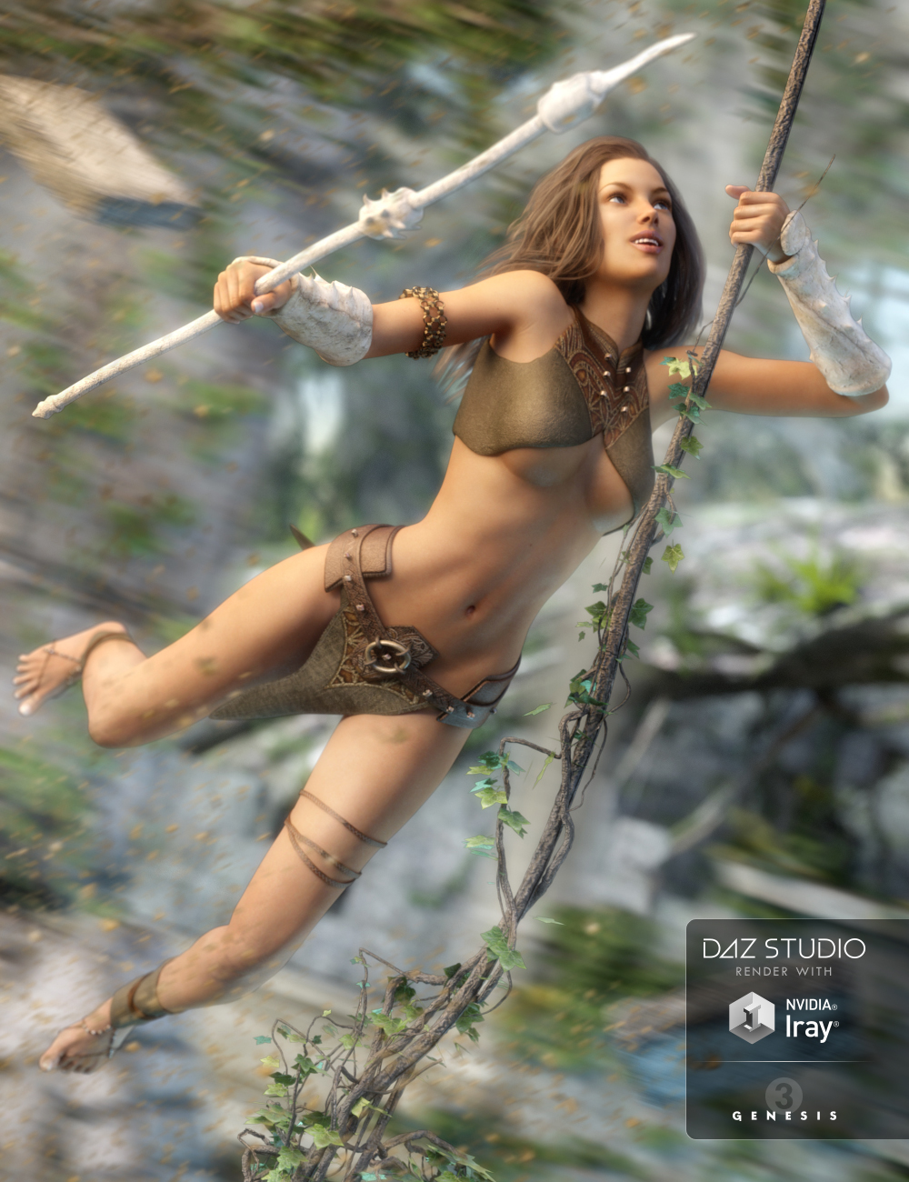 Wild Wind for Genesis 3 Female(s) by: 3DLustSarsa, 3D Models by Daz 3D