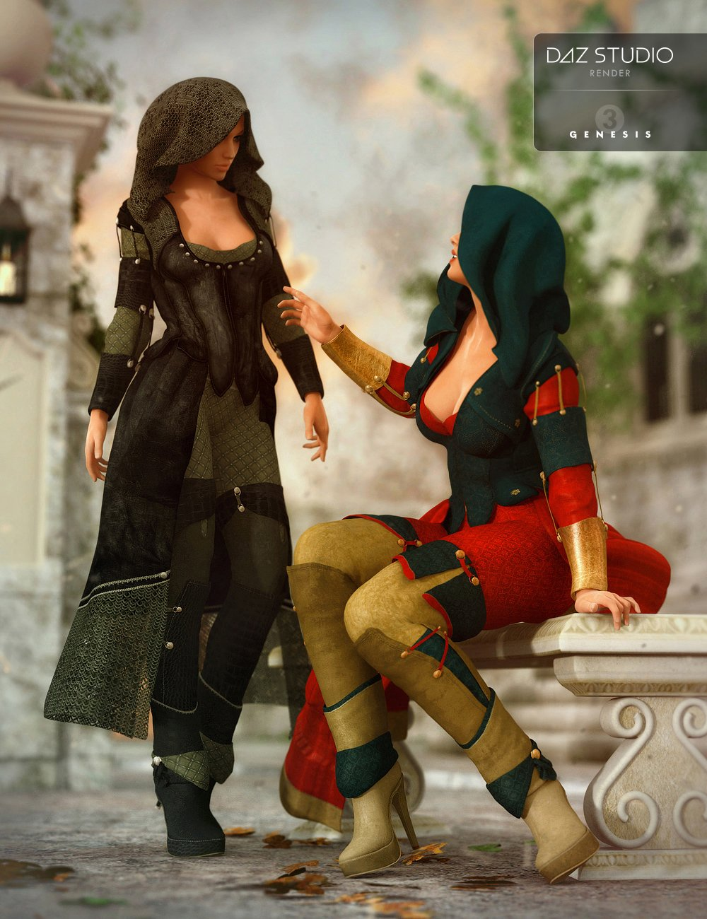 Austrani Outfit Textures by: Anna Benjamin, 3D Models by Daz 3D