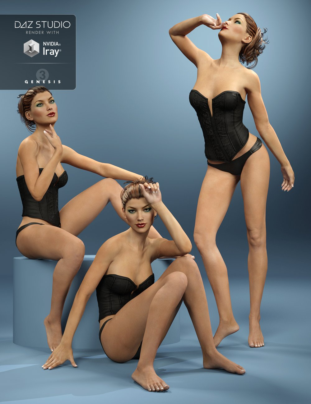 i13 Sexy Model Poses for Victoria 7 by: ironman13, 3D Models by Daz 3D