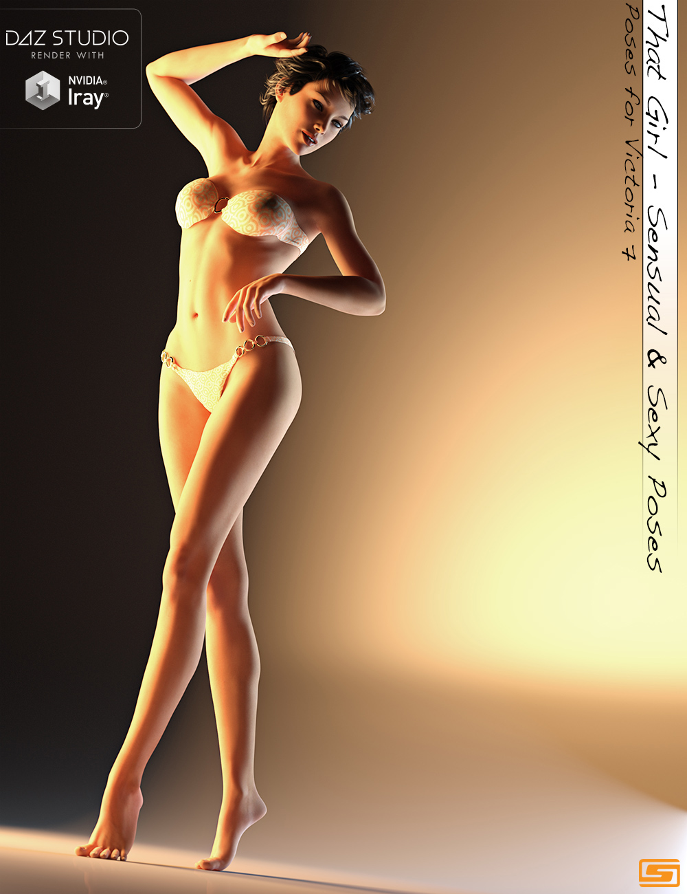 That Girl - Sensual and Sexy Poses for Victoria 7 by: Sedor, 3D Models by Daz 3D