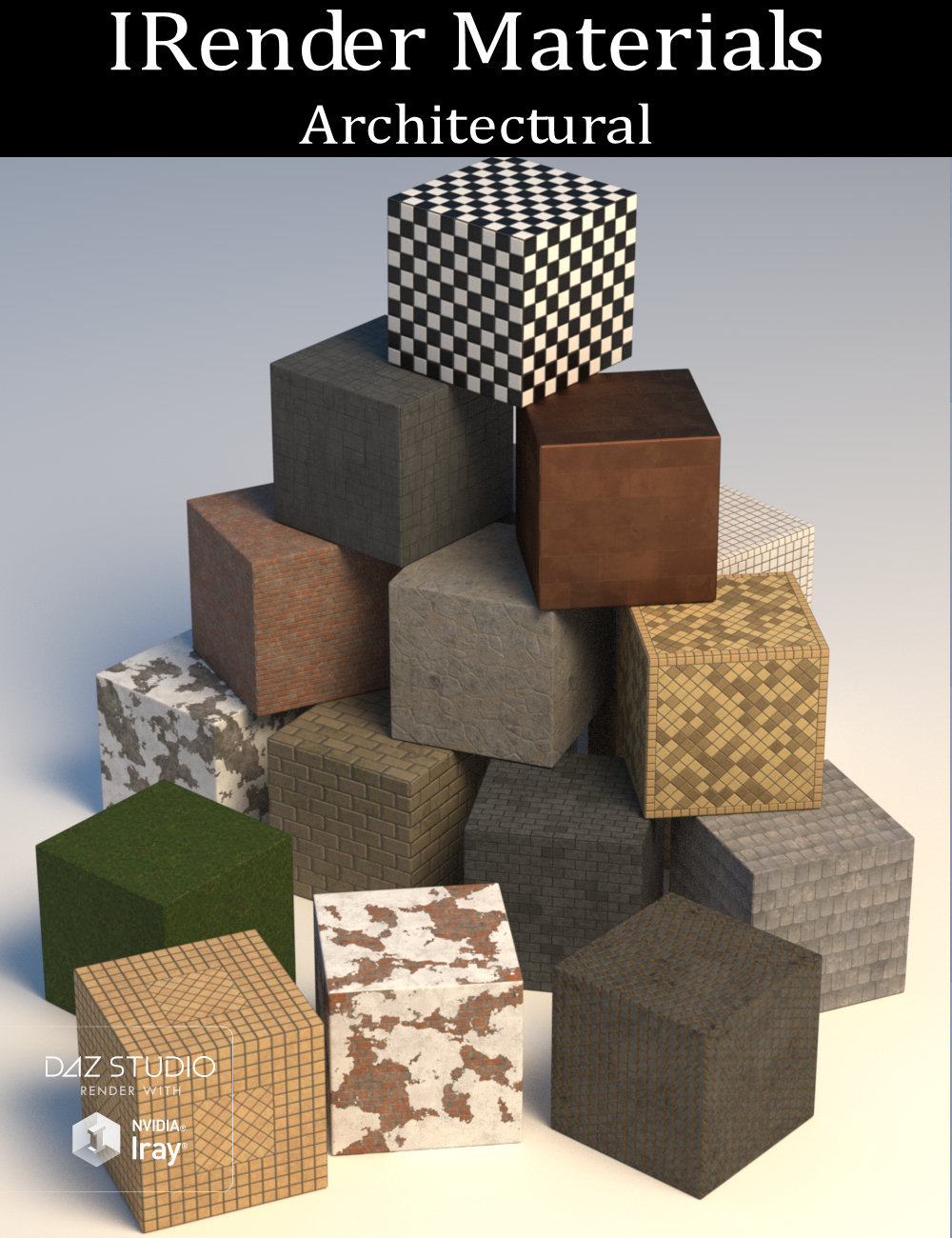 IRender Materials: Architectural by: the3dwizard, 3D Models by Daz 3D