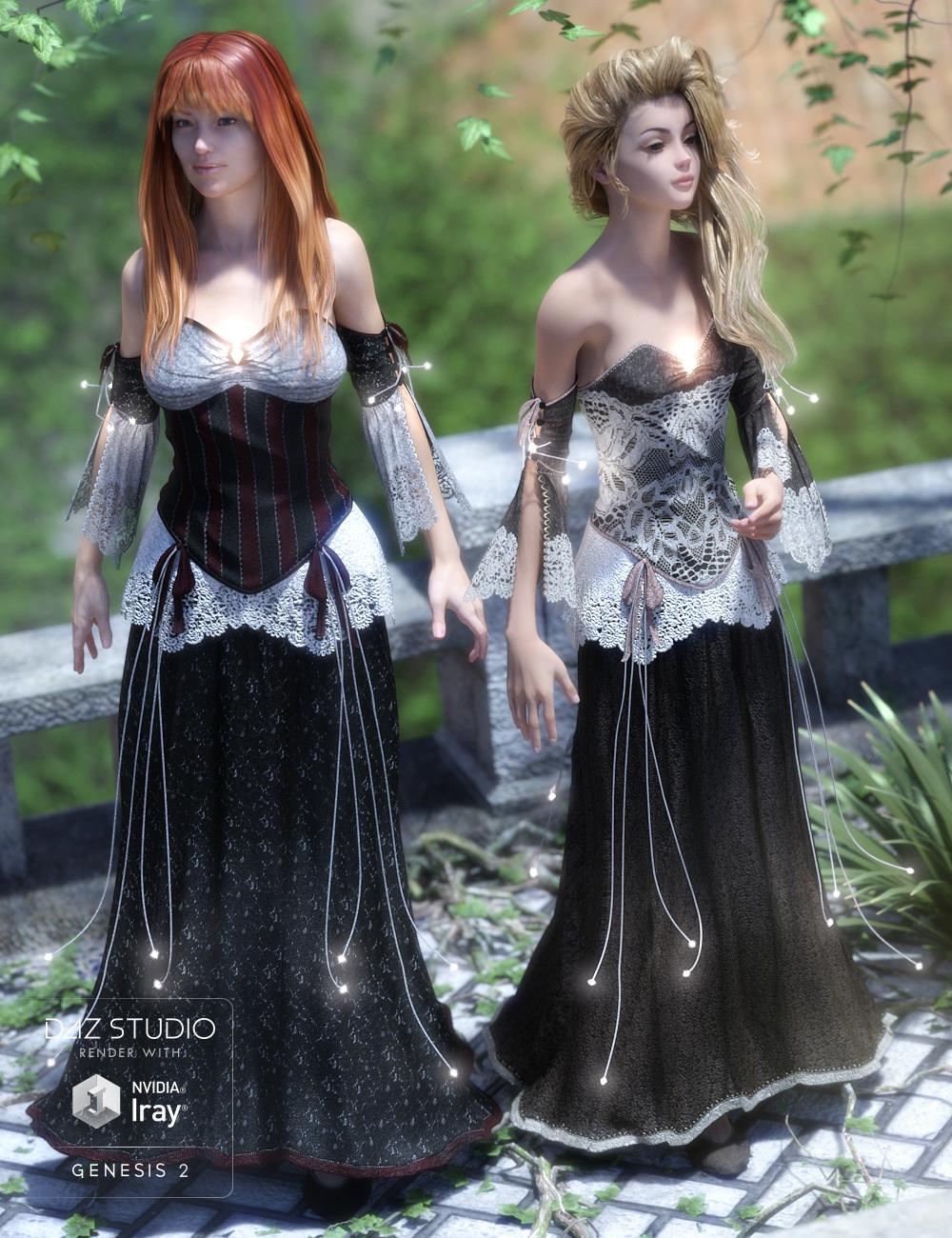 Fayre Princess by: Sarsa, 3D Models by Daz 3D