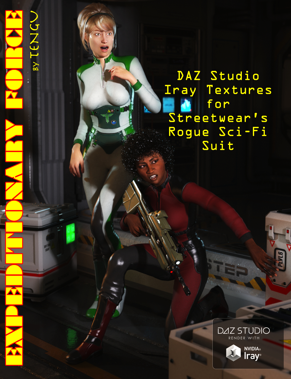 Expeditionary Force by: Tengu23, 3D Models by Daz 3D