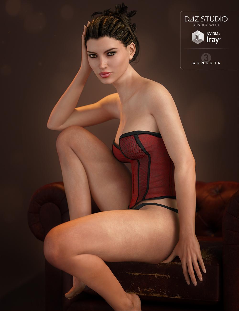 FWSA Adaline HD for Victoria 7 by: Fred Winkler ArtSabby, 3D Models by Daz 3D
