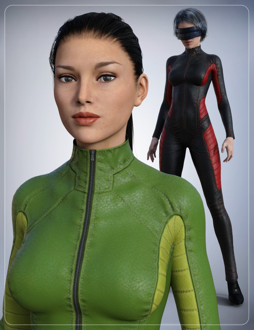 Leather Body Suit by: smay, 3D Models by Daz 3D
