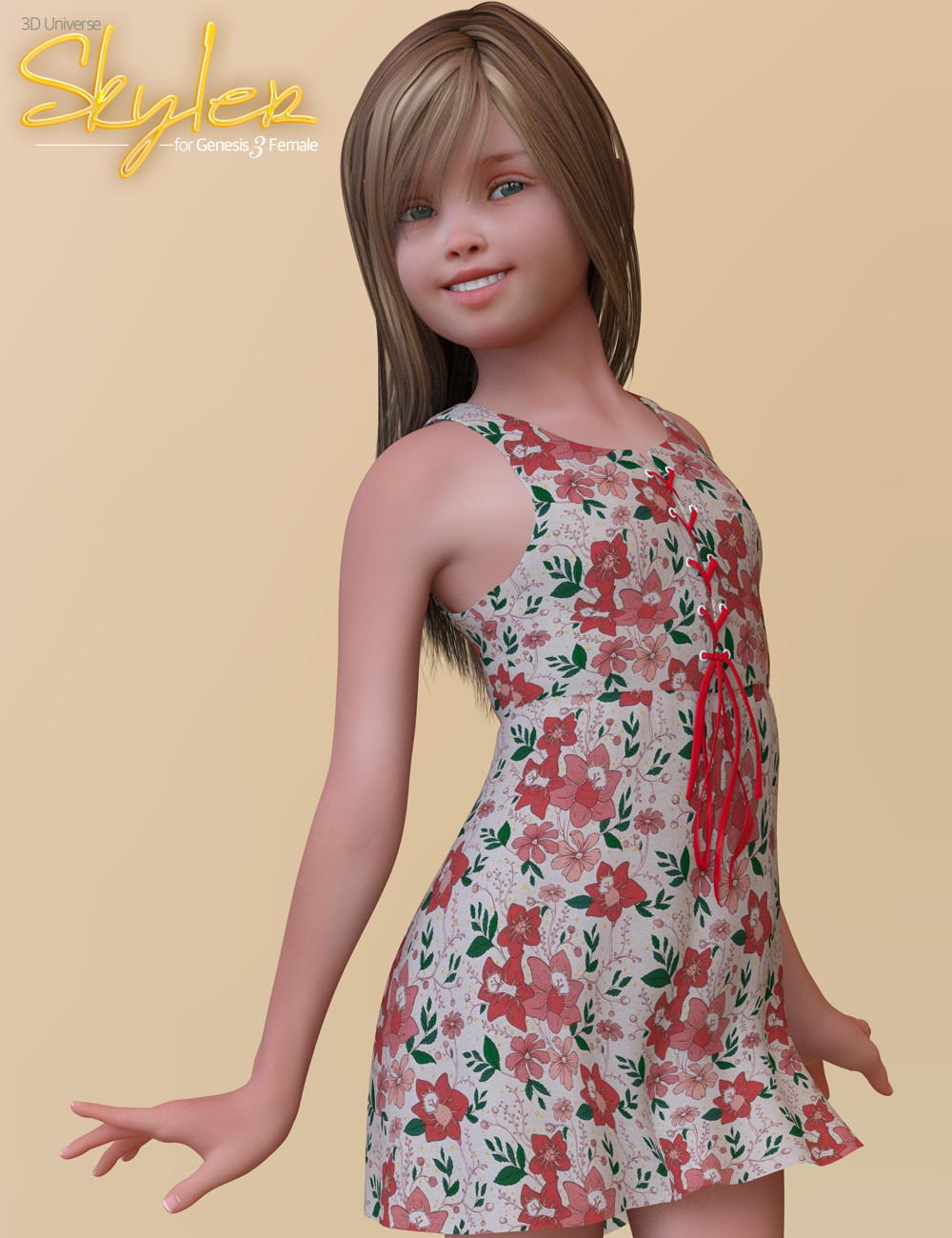 Skyler Clothing for Genesis 3 Female(s) by: 3D Universe, 3D Models by Daz 3D