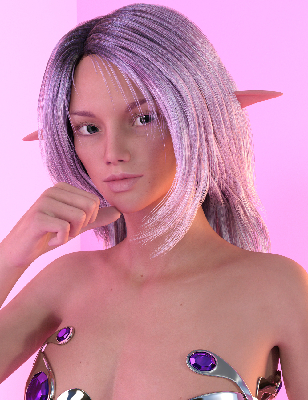 Fantastical Features for Genesis 3 Female(s) by: Sickleyield, 3D Models by Daz 3D