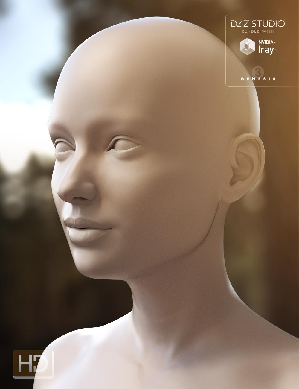 Eva 7 HD Add-On by: , 3D Models by Daz 3D