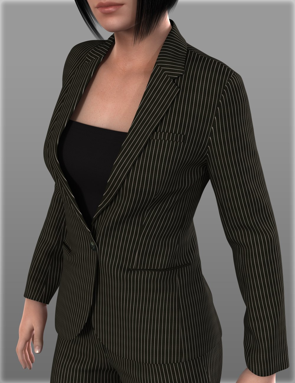Women's Suits B for Genesis 2 Female(s) by: IH Kang, 3D Models by Daz 3D