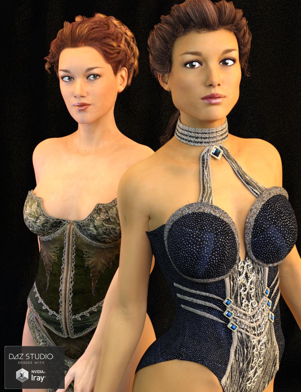 FSL Divas for Victoria 7 by: Fuseling, 3D Models by Daz 3D