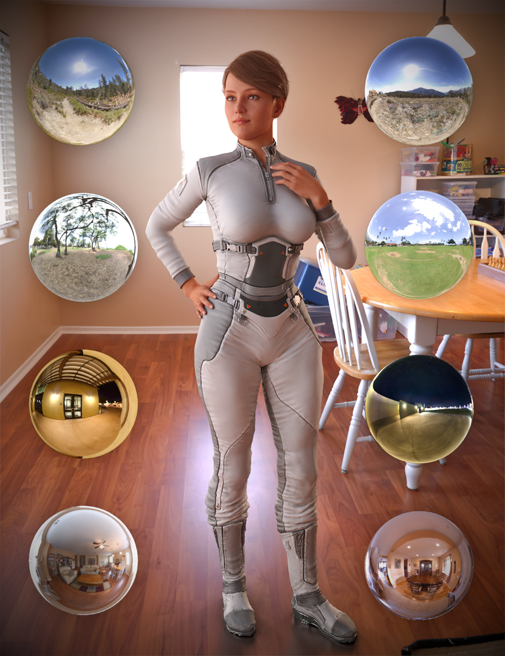 iRadiance - HDRI Variety Pack One by: DimensionTheory, 3D Models by Daz 3D
