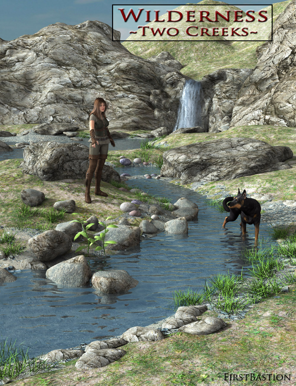 1stBastion's Wilderness: Two Creeks by: FirstBastion, 3D Models by Daz 3D