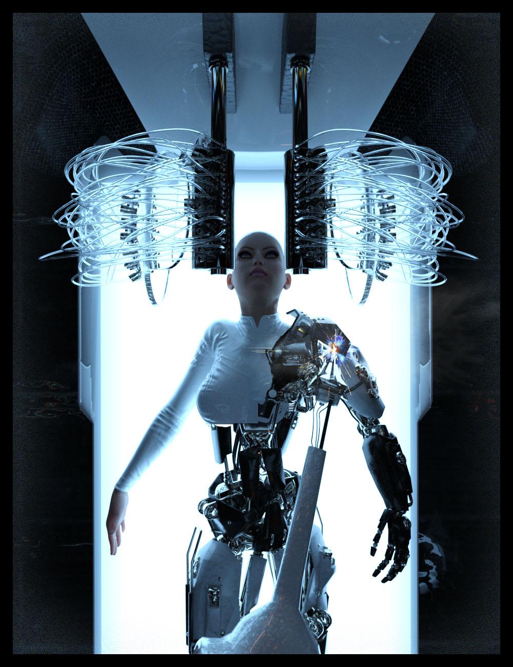 Robotics Lab by: Studio360, 3D Models by Daz 3D