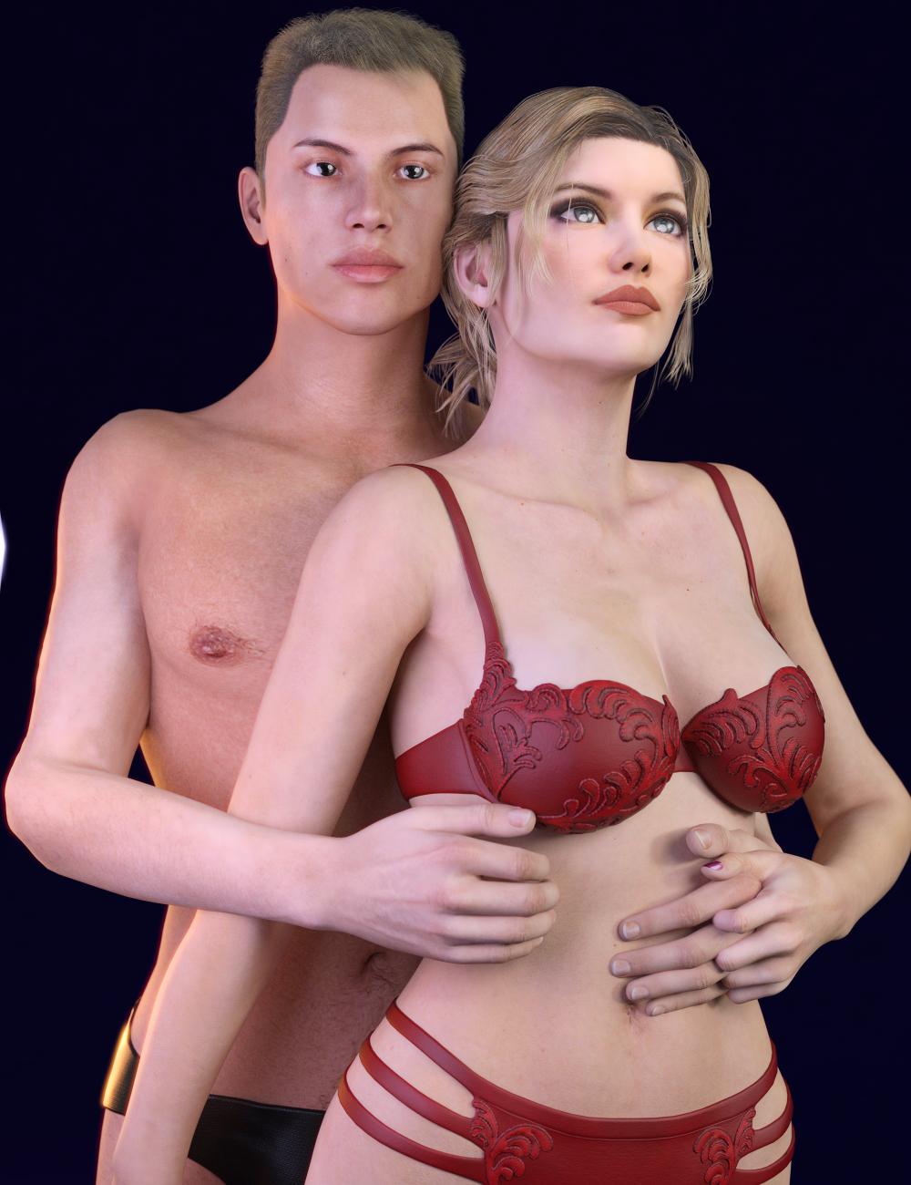 Beautiful Skin Genesis 2 Iray Bundle by: SickleyieldFuseling, 3D Models by Daz 3D