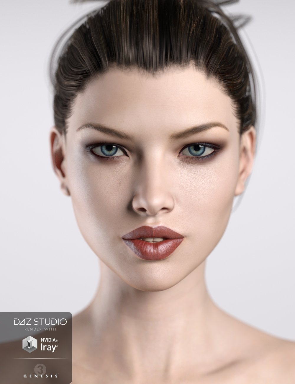 JM HumanShader for Iray by: JavierMicheal, 3D Models by Daz 3D