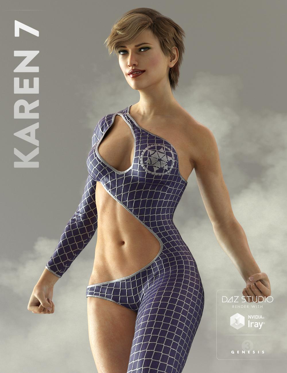Karen 7 by: , 3D Models by Daz 3D