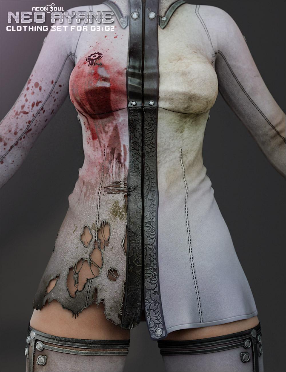 Neo Ayane Bundle by: Aeon Soul, 3D Models by Daz 3D
