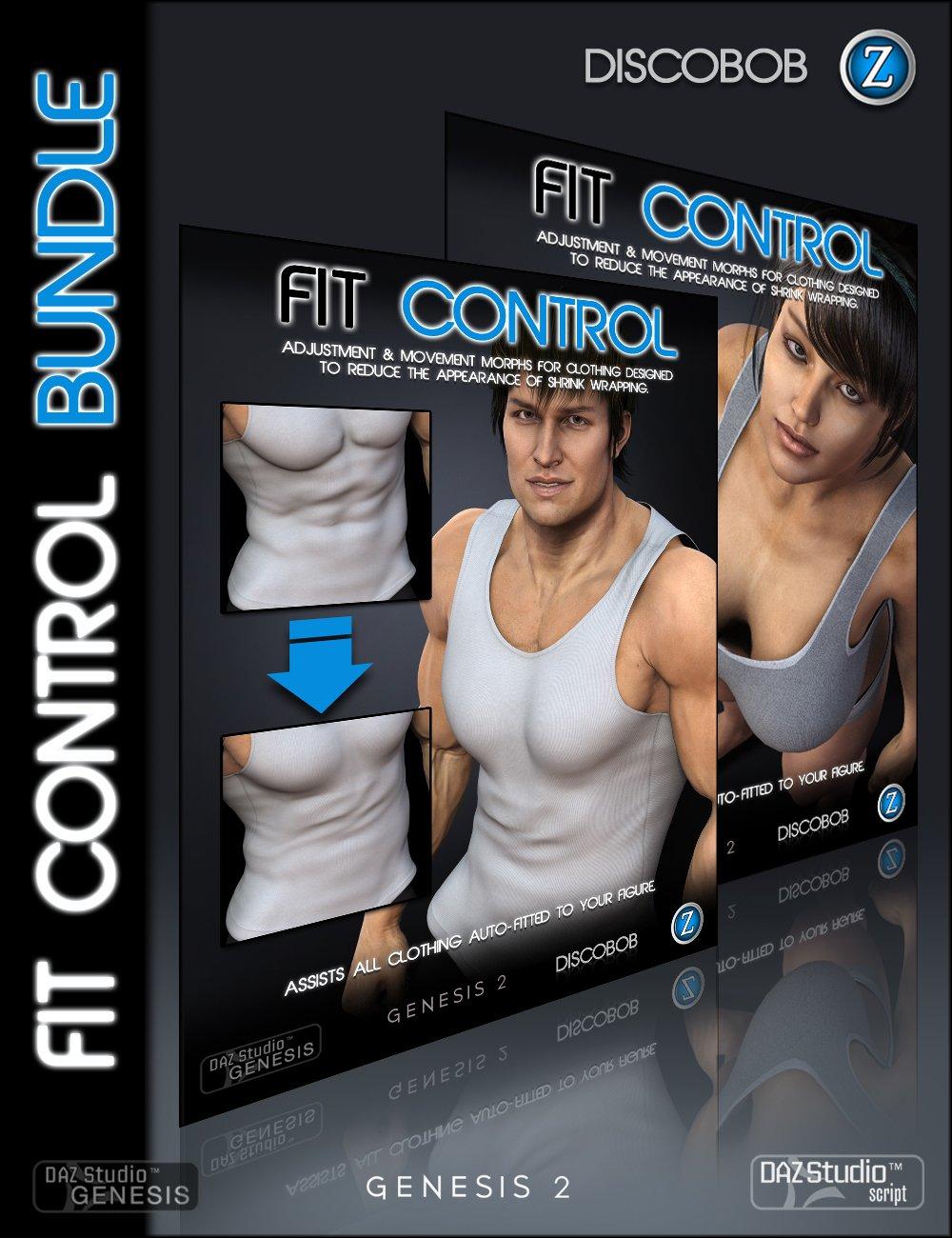Fit Control Bundle by: DiscobobZev0, 3D Models by Daz 3D