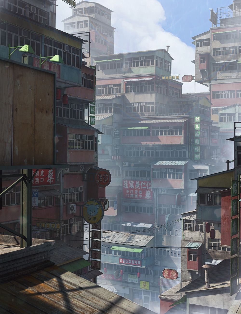 Chinatown by: Stonemason, 3D Models by Daz 3D