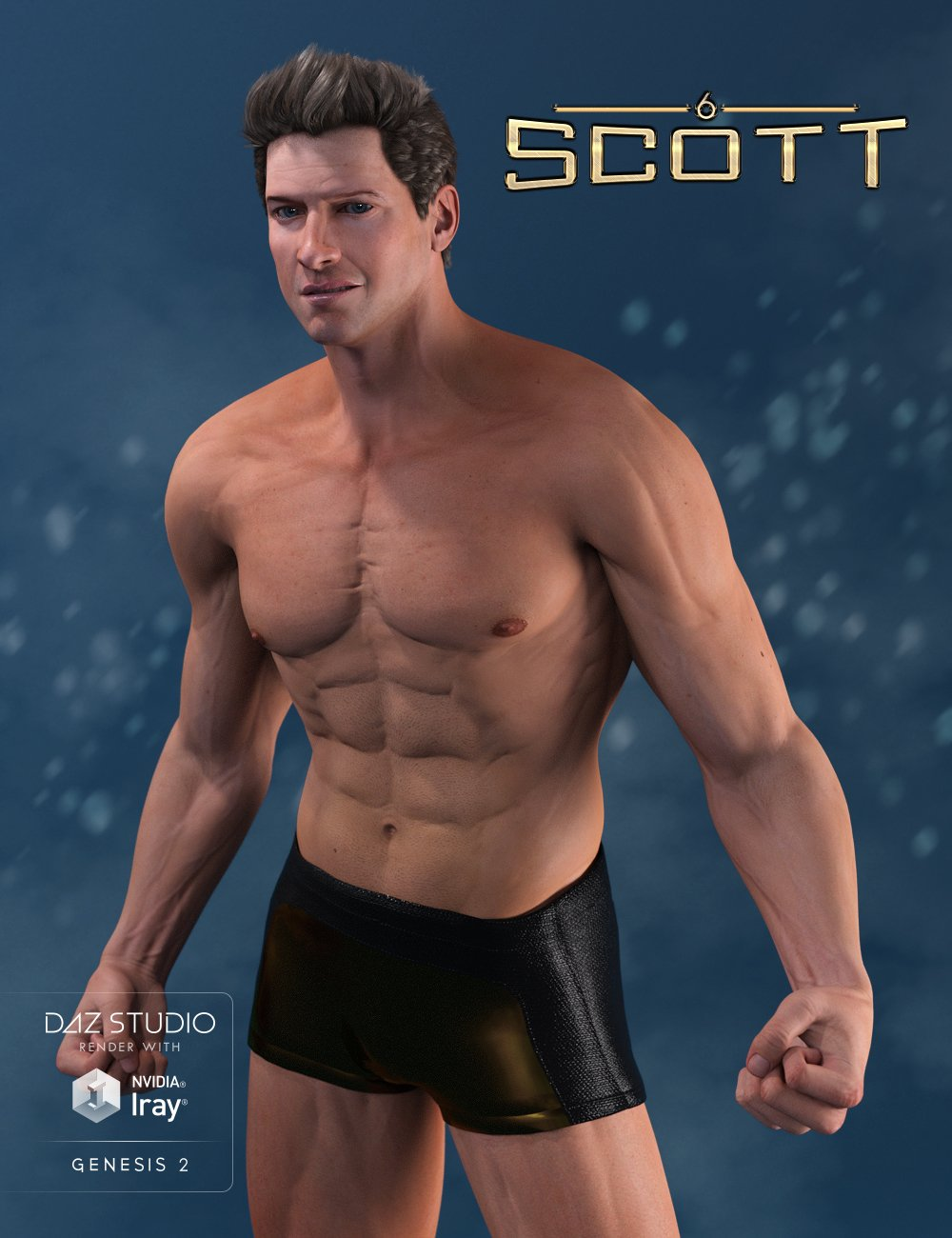 Scott 6 by: , 3D Models by Daz 3D