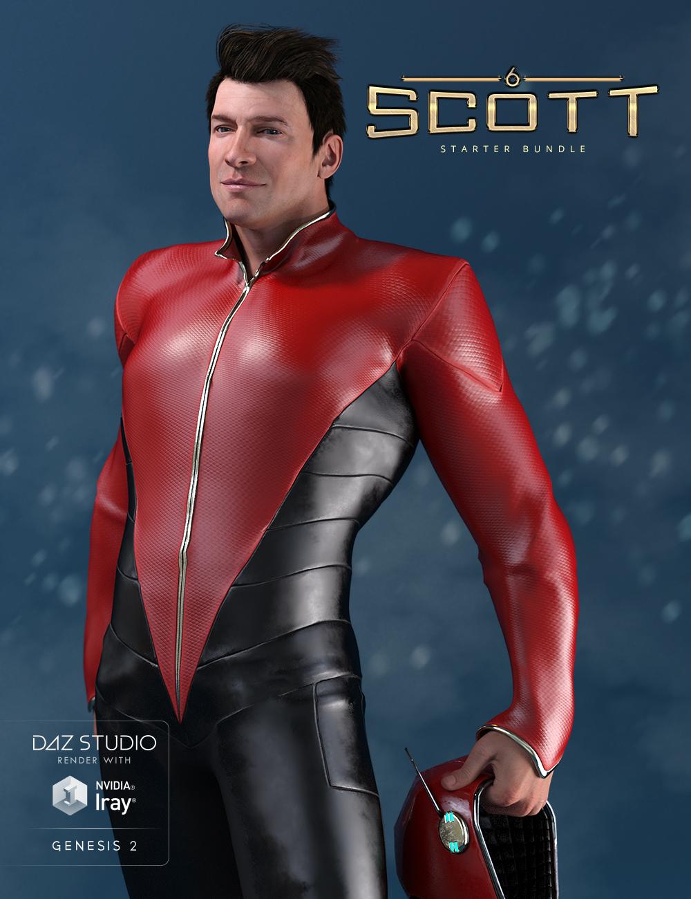 Scott 6 Starter Bundle by: , 3D Models by Daz 3D