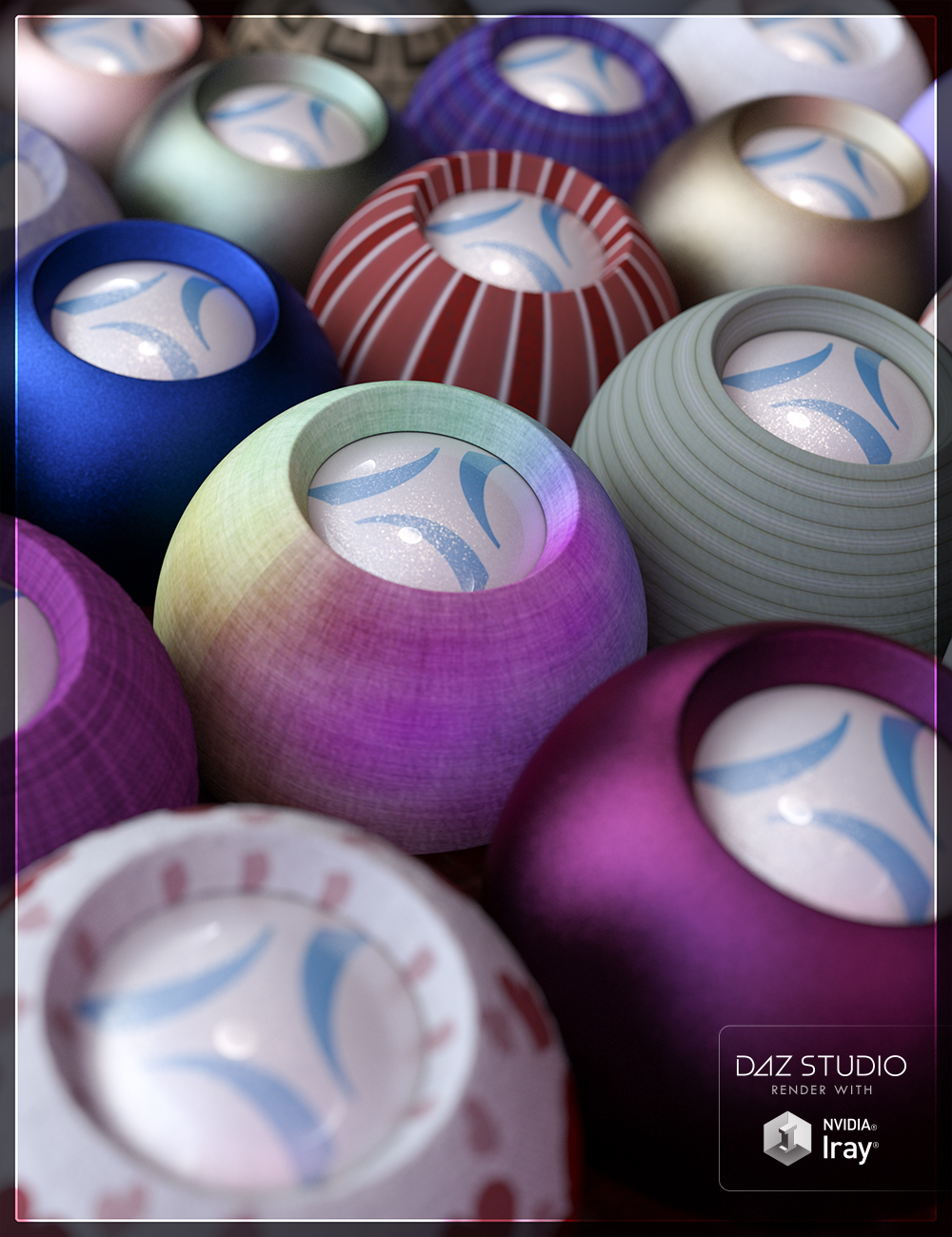 Simple Fabric Iray Shaders by: JGreenlees, 3D Models by Daz 3D