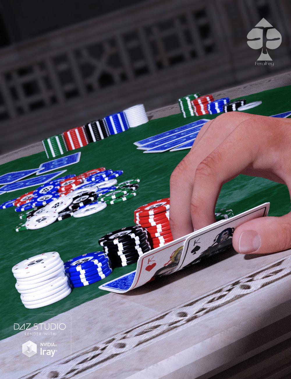 FeralFey's Poker Play by: FeralFey, 3D Models by Daz 3D