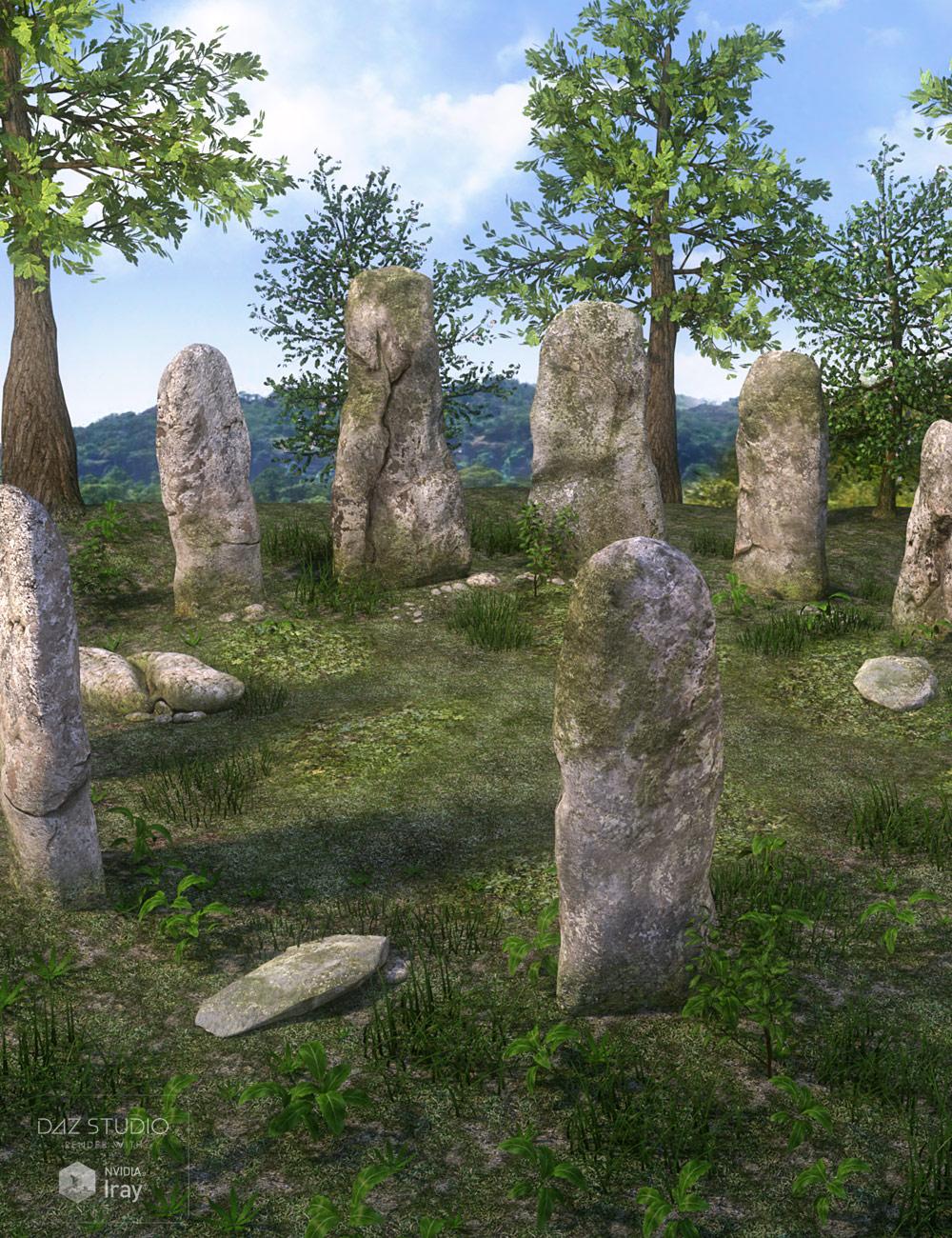 DM's Stones of Graith by: Daniemarforno, 3D Models by Daz 3D