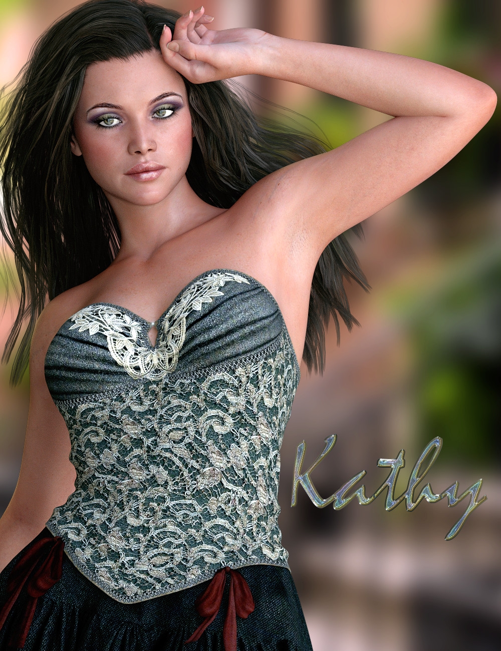 Kathy for Genesis 3 Female(s) by: Virtual_World, 3D Models by Daz 3D