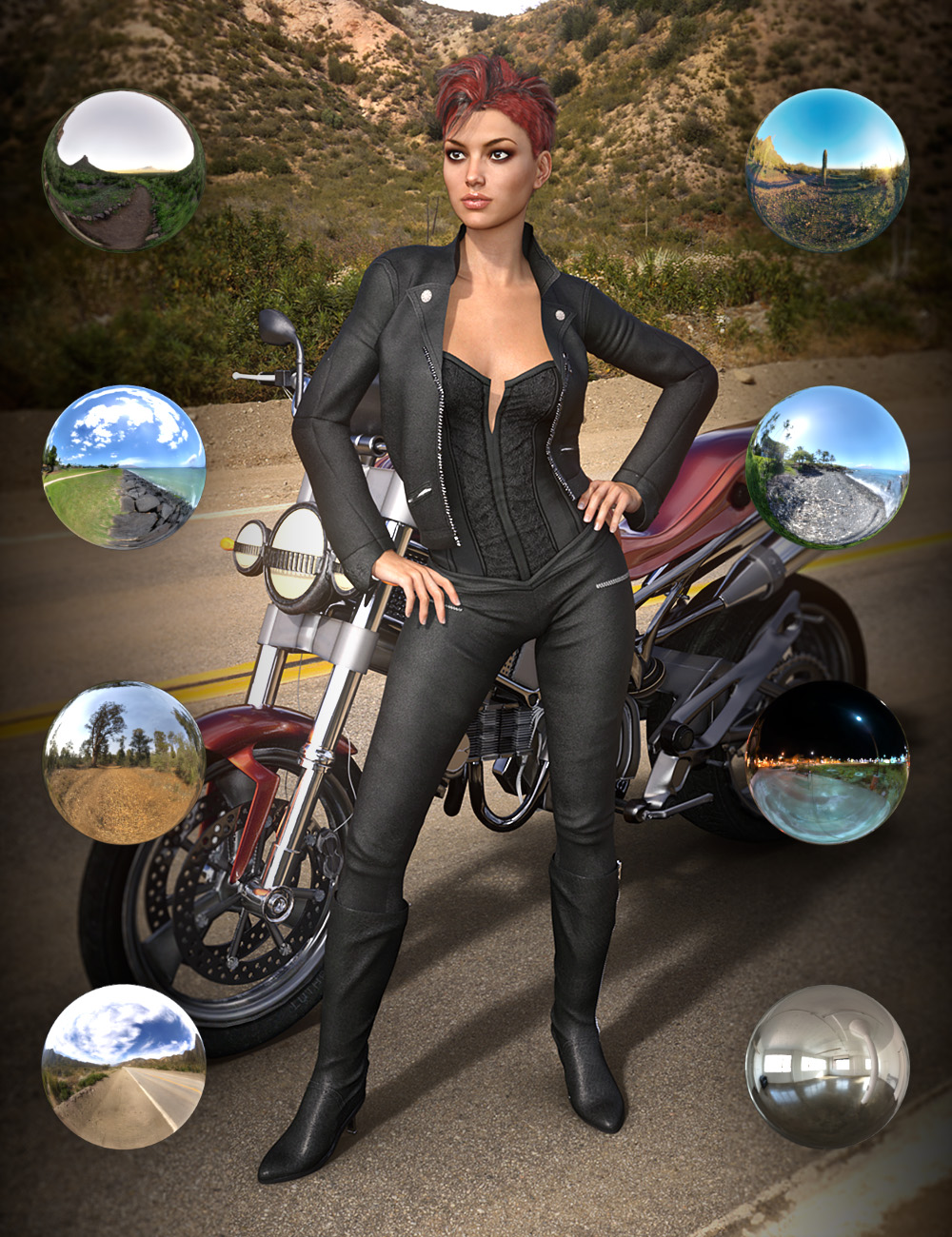 iRadiance - HDRI Variety Pack Two by: DimensionTheory, 3D Models by Daz 3D