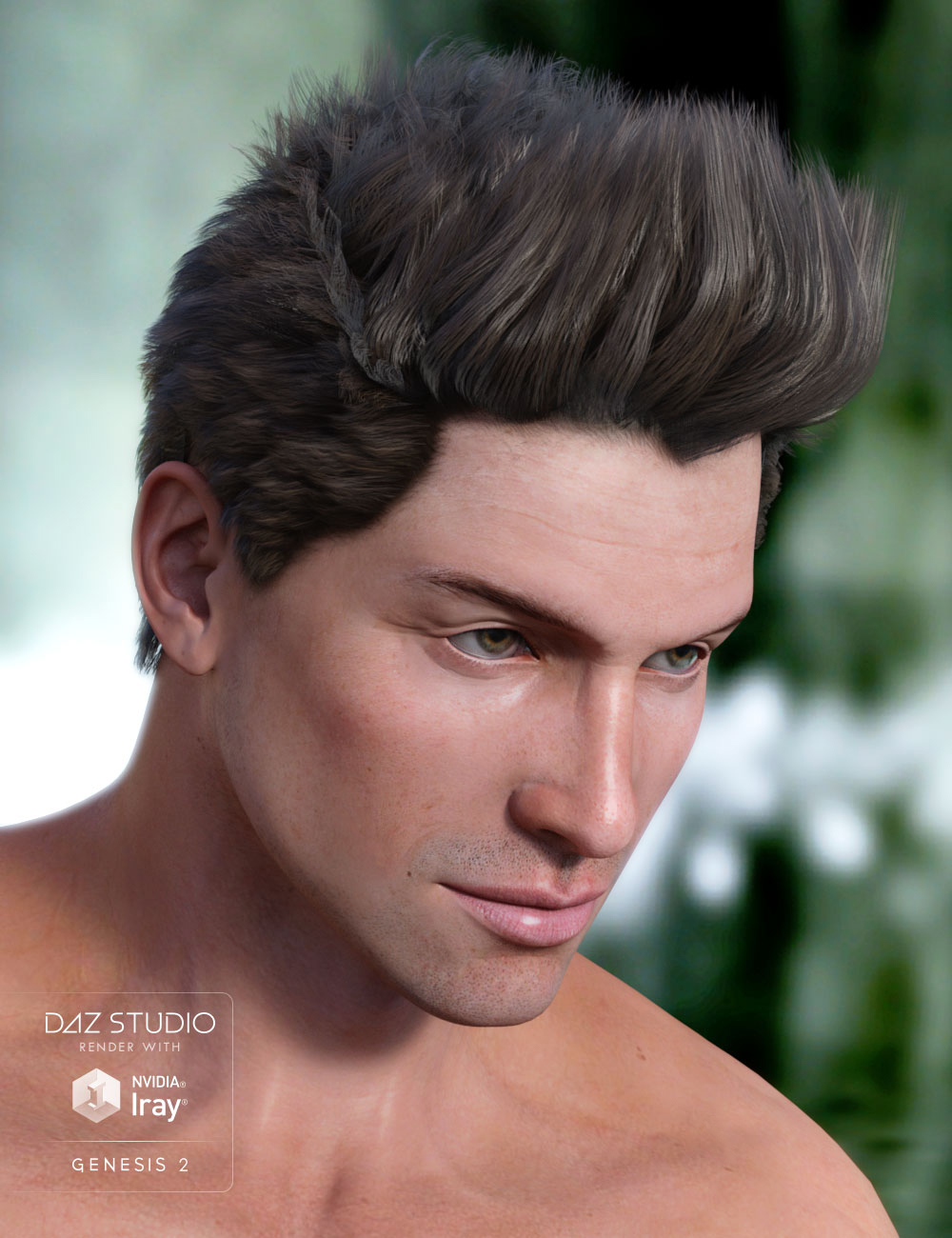 Scott Hair by: AprilYSH, 3D Models by Daz 3D