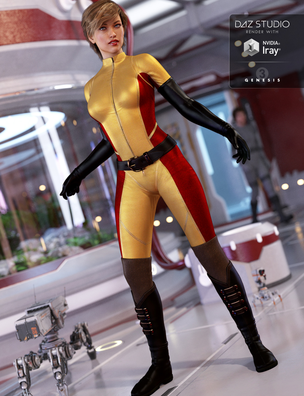 Eclipse Outfit for Genesis 3 Female(s) by: MadaShox-Design, 3D Models by Daz 3D