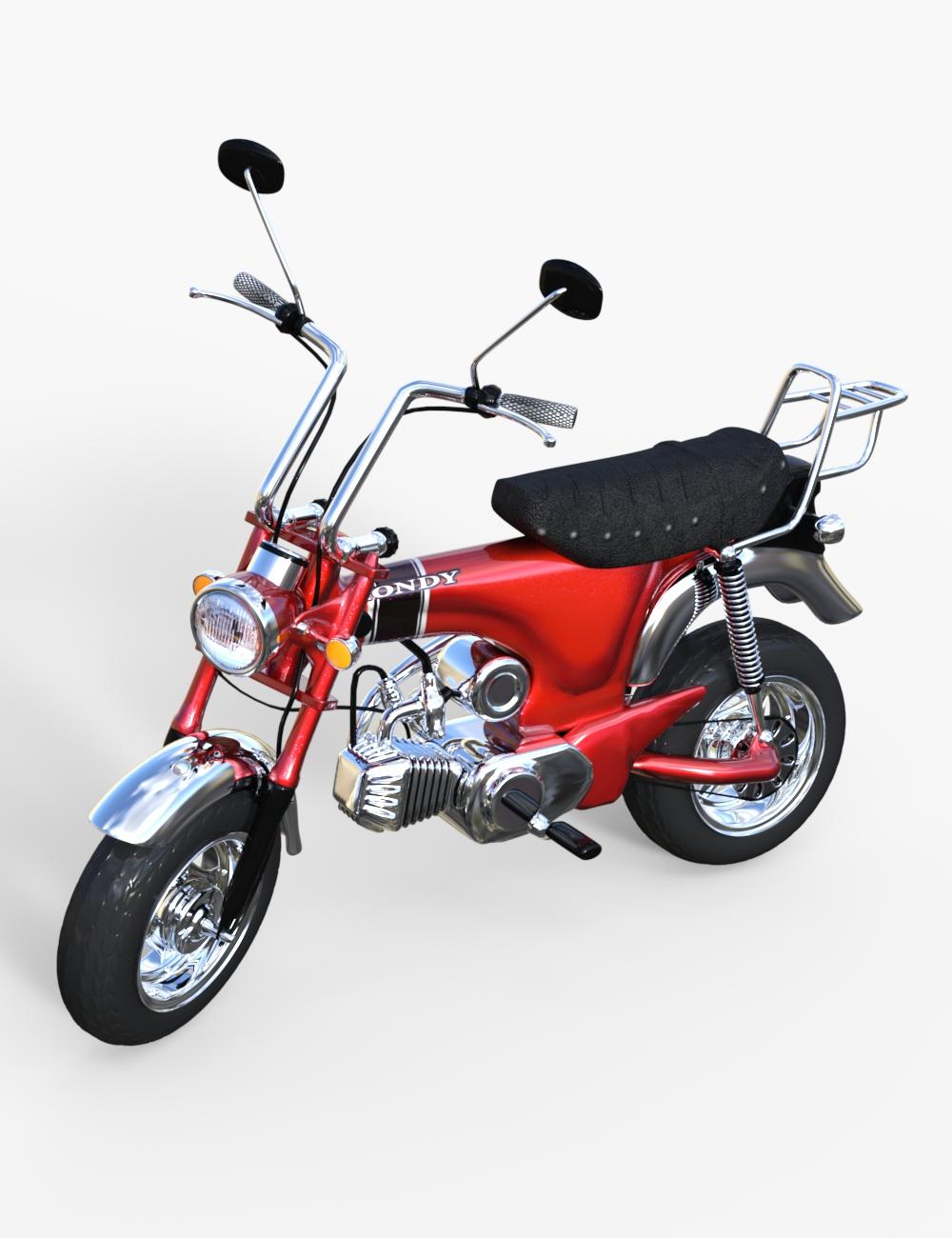 1969 Minibike by: PerspectX, 3D Models by Daz 3D