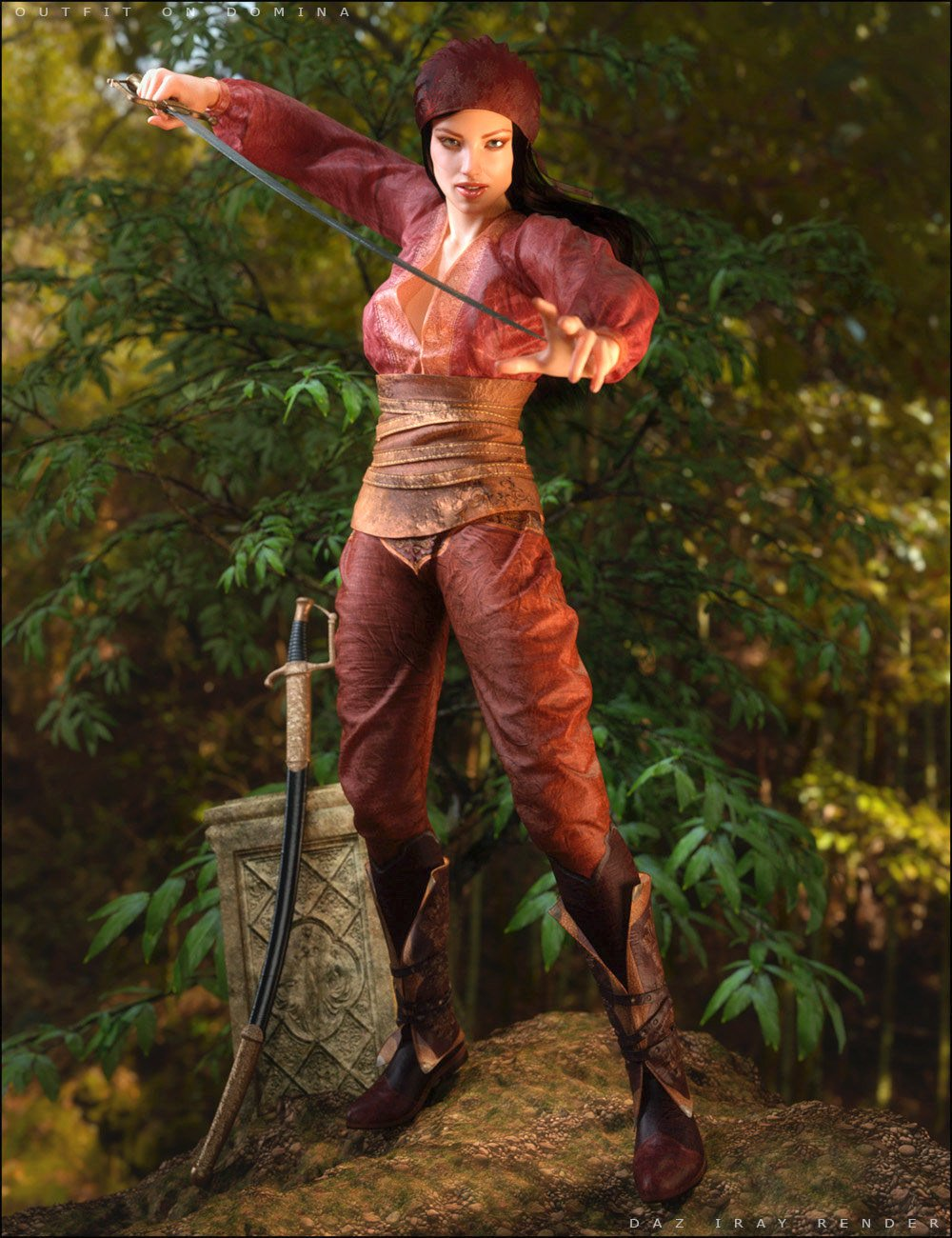 The Swashbuckler for Genesis 2 Female(s) by: SHIFTING IMAGES, 3D Models by Daz 3D
