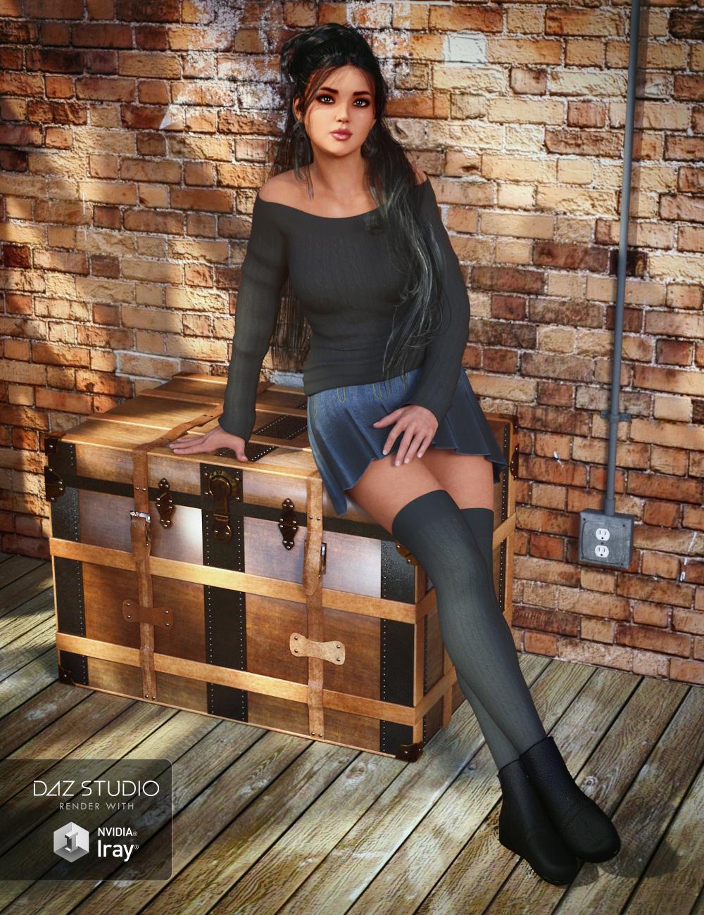 Collective3d Portrait Vignettes Contemporary 3 by: Collective3d, 3D Models by Daz 3D